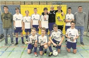 Die C1-Jugend belegte einen starken vierten Platz bei den diesjähirgen Hallenkreismeisterschaften