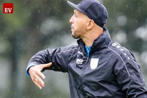Kehrt am Sonntag als Fortuna-Trainer an seine alte Wirkungsstätte ins Salvus-Stadion zurück: Francesco Catanzaro.