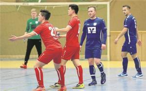 Fortuna besiegt Borussia beim Hallenturnier mit 6:5