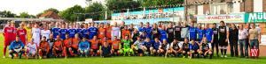 Die drei Mannschaften – Emsdetten 05 II, Borussia II und Fortuna I