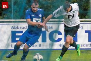 Während Michel Bröker lange ausfallen wird, kehrt Lukas Kritsch (l.) Sonntag in den Fortunenkader zurück.